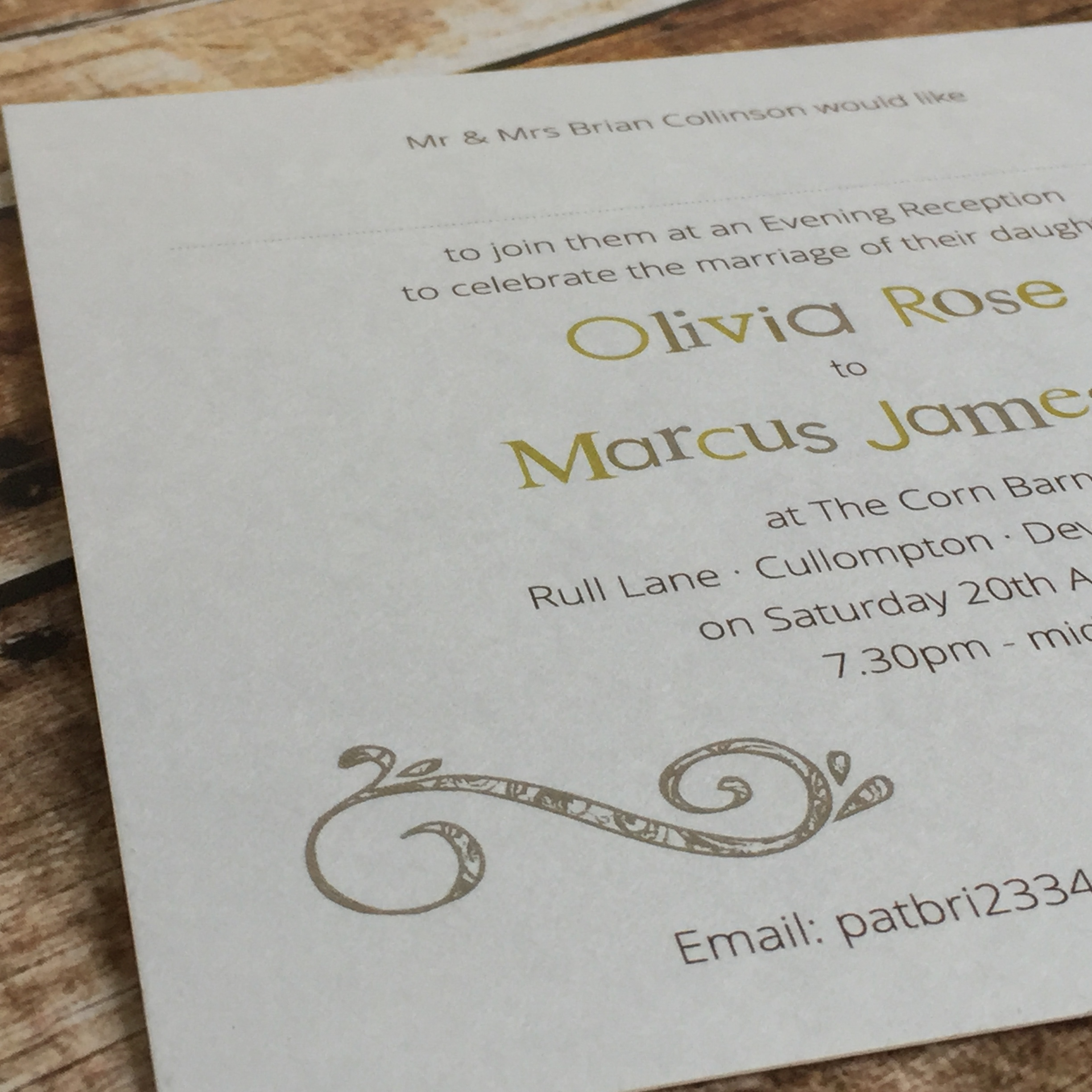 Hopscotch Evening Invitations – Dilly & Dilly